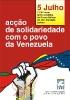 Acção de solidariedade com o povo da Venezuela_1